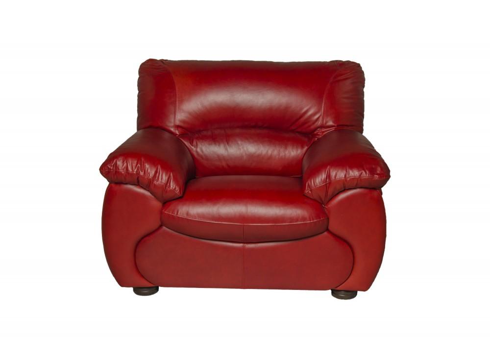 Кресло OscarКожаные кресла<br>Это кресло отлично смотрится в абсолютно любых условиях благодаря продуманному и очень красивому сочетанию подобранных элементов. Подушки для сидения выполнены из высокоэластичного поролона,  подушки наполнены силиконовой массой.<br><br>Material: Кожа<br>Length см: 119<br>Width см: 94<br>Height см: 92