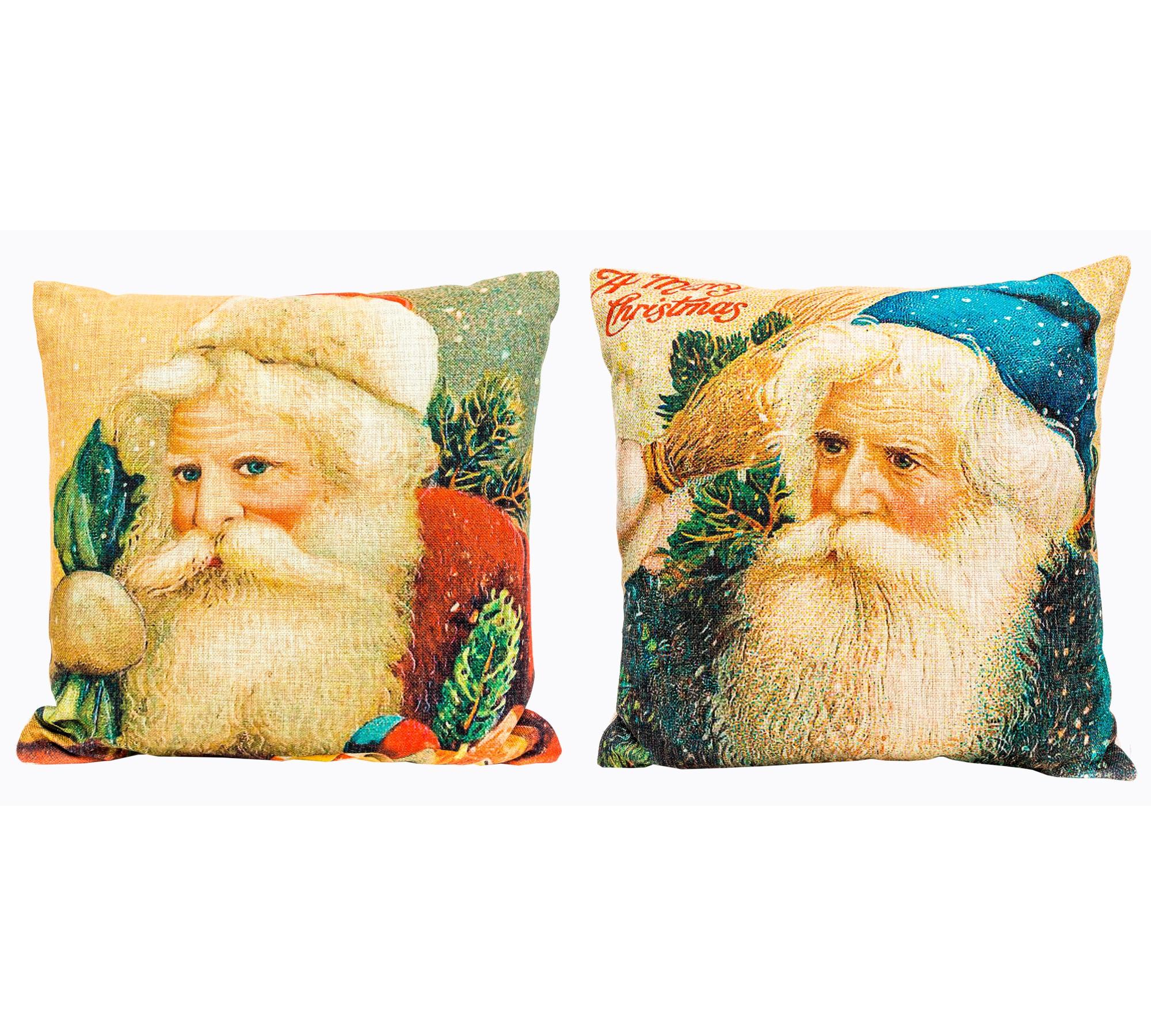"""Object Desire Набор из двух декоративных подушек """"С Новым Годом!"""", версия 3"""