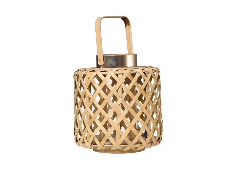 Бамбуковый подсвечник