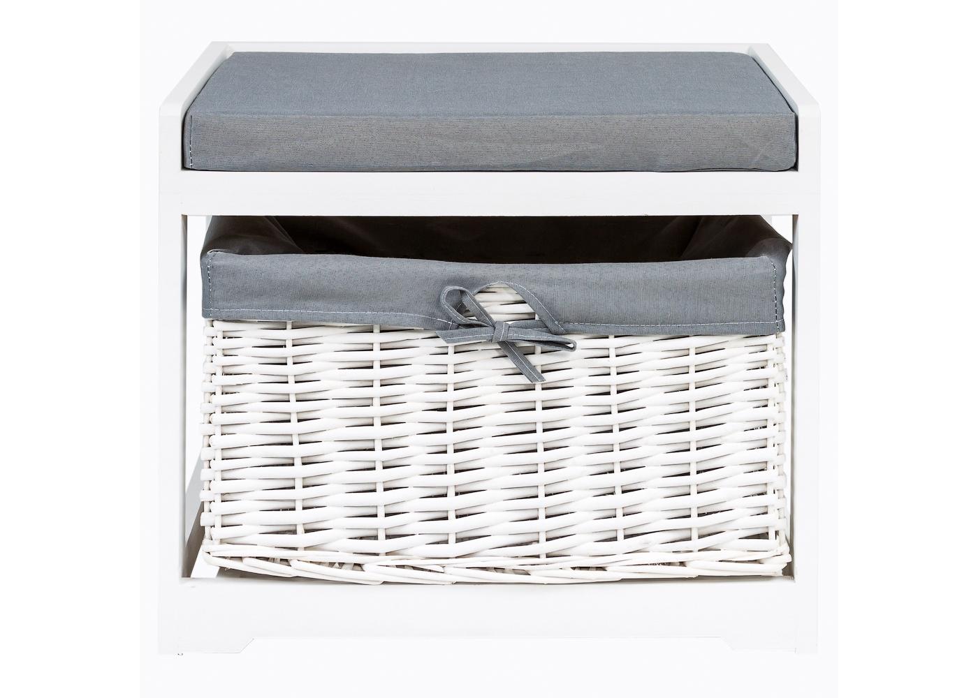 Object Desire Банкетка с корзиной «Монсоро»