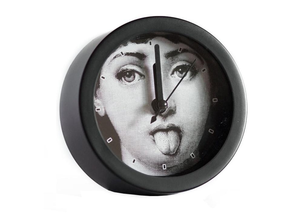 Будильник с портретом Лины Пьеро Форназетти HumorНастольные часы<br><br><br>Material: Пластик