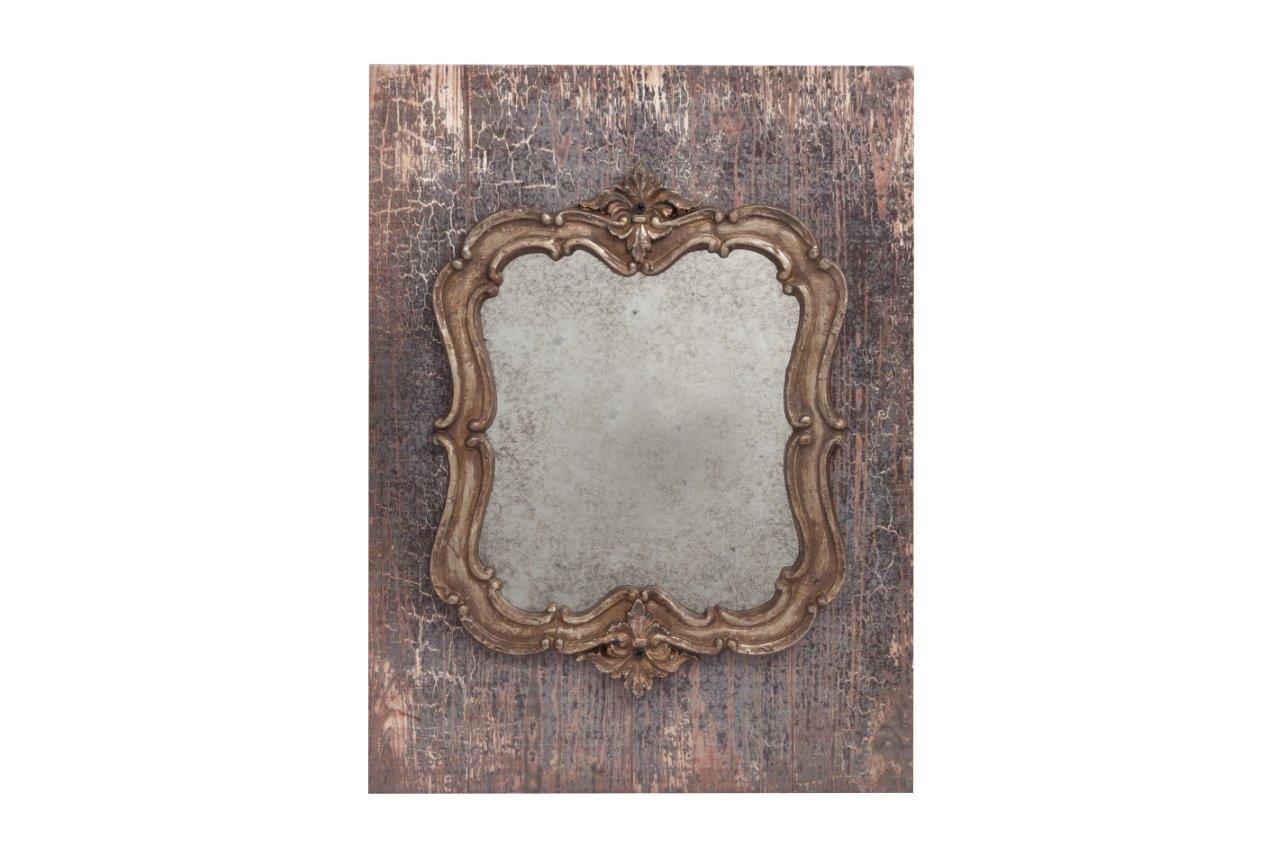 Зеркало Pontmercy FourНастенные зеркала<br><br><br>Material: МДФ<br>Width см: 25.91<br>Depth см: 1.5<br>Height см: 34.54