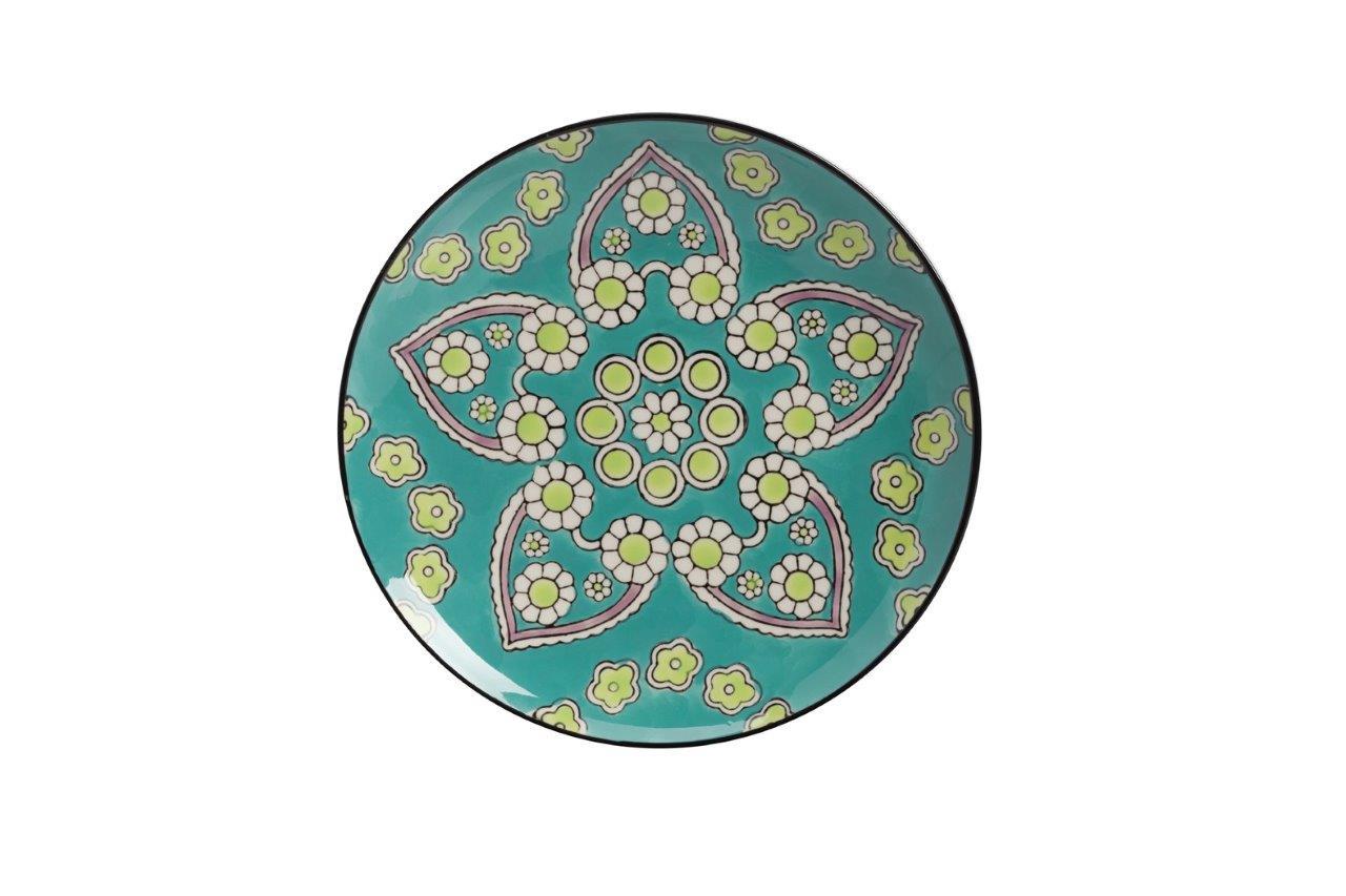Мини-блюдо раскрашенное вручную СhiellaДекоративные блюда<br><br><br>Material: Керамика