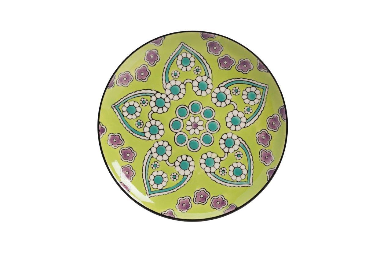 Мини-блюдо раскрашенное вручную KamilleДекоративные блюда<br><br><br>Material: Керамика<br>Diameter см: 20