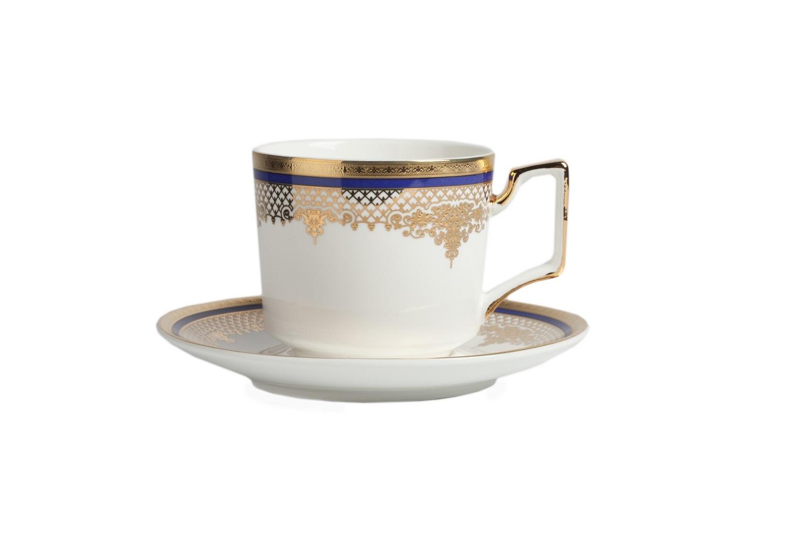 Чайная пара WanderЧайные пары и чашки<br><br><br>Material: Фарфор<br>Height см: 5.5<br>Diameter см: 9