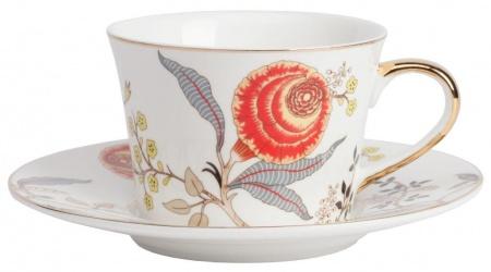 Чайная пара Jardin Tea CoupleЧайные пары, чашки и кружки<br><br><br>Material: Фарфор<br>Height см: 7<br>Diameter см: 14