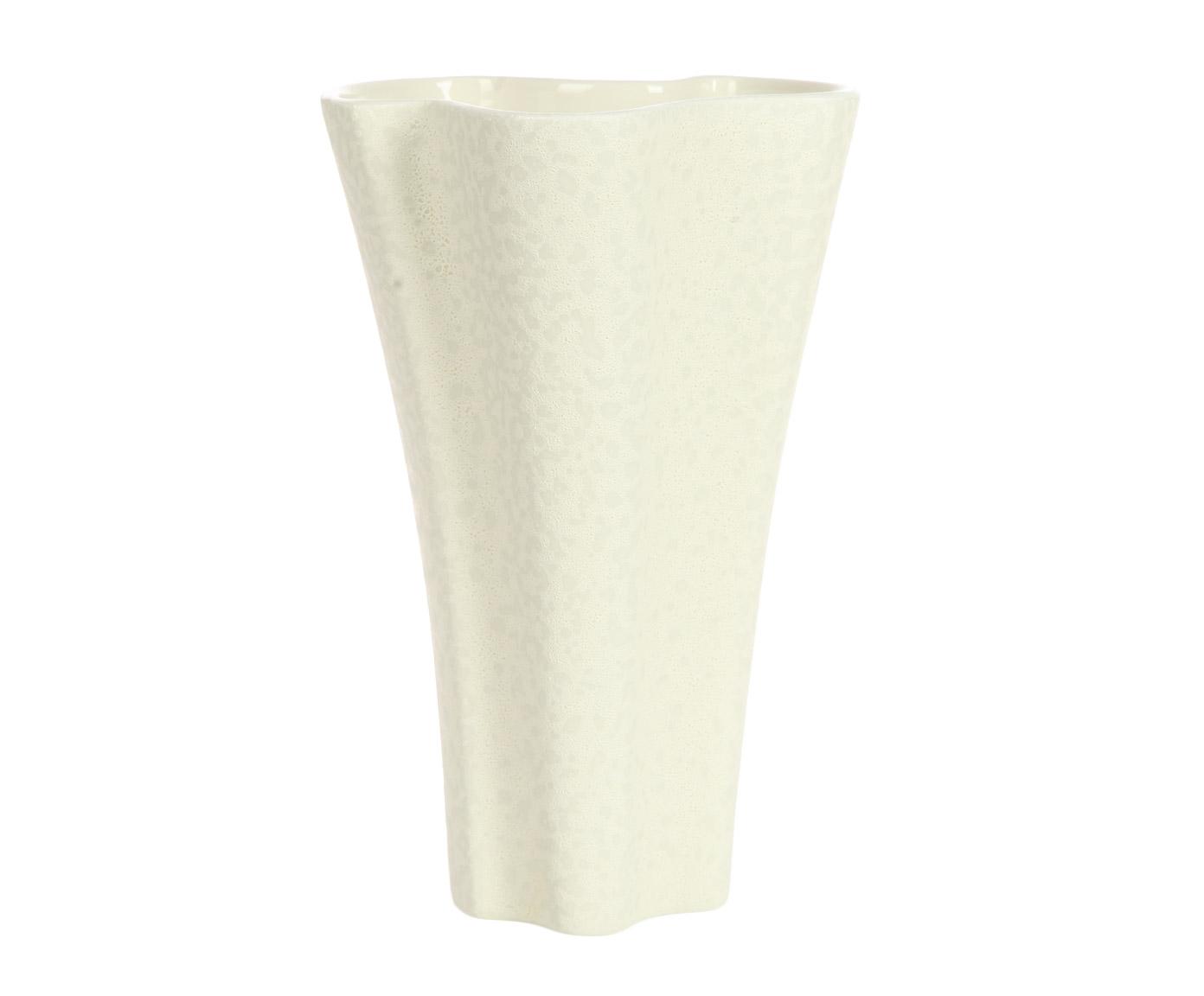 Ваза декоративнаяВазы<br>Дизайн этой вытянутой вверх декоративной вазы от Farol вызывает ассоциации с морем. Произвольная, несимметричная форма коралловой ветки, поверхность, напоминающая белую морскую пену – вот-вот схлынет и обнажит глянцевую галечную поверхность. Приложите ухо к горлышку вазы и услышите прибой и крики чаек.<br><br>Material: Керамика<br>Length см: None<br>Width см: 26<br>Height см: 34,5
