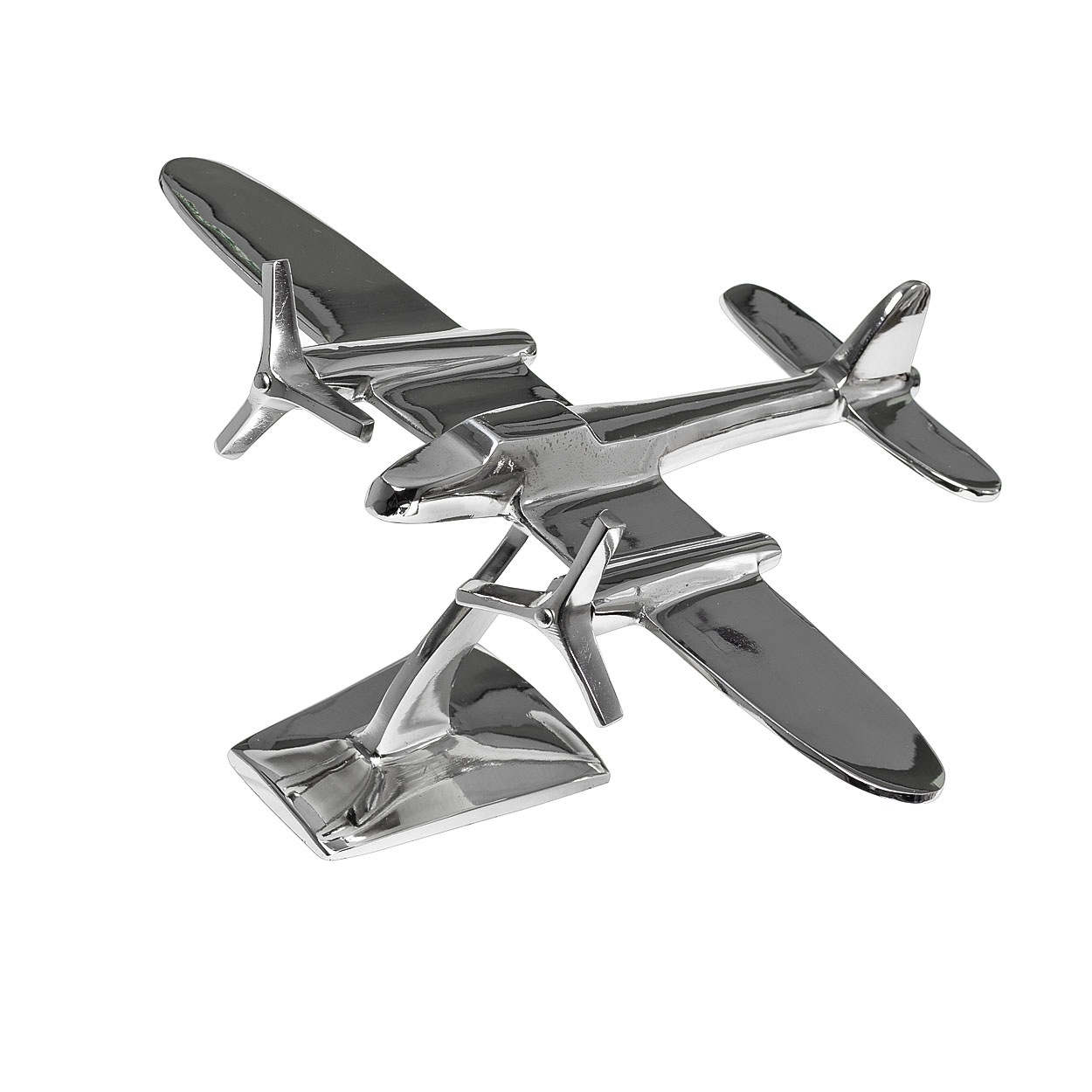 Статуэтка СамолетСтатуэтки<br>Материал: Алюминий, никель.<br><br>Material: Алюминий<br>Ширина см: 30<br>Высота см: 24.0<br>Глубина см: 14.0