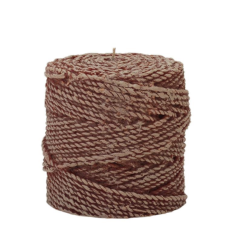 Свеча Twine 10 WoodСвечи<br>Долгогорящая свеча из натурального воска, коллекция Twine, аромат Fresh Linen. Время горения свечи - 50 часов.<br><br>Material: Воск<br>Height см: 10<br>Diameter см: 9