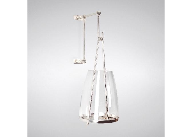 ПодсвечникПодсвечники<br>Элегантный, стильный, необычный подсвечник, выполненный из высококачественного стекла и нержавеющей стали. Современный дизайн подсвечника делает его достаточно необычным, но в то же время он отлично найдет свое место практически в любом интерьере.<br><br>Material: Сталь<br>Length см: None<br>Width см: None<br>Height см: 14<br>Diameter см: 6.5