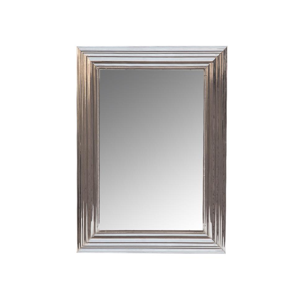 Зеркало ДефендерНастенные зеркала<br>Амальгама зеркала выполнена из натурального серебра, что создает эффект благородной старины.<br><br>Material: Металл<br>Width см: 56<br>Depth см: 4<br>Height см: 81