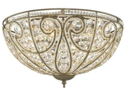 Потолочный светильник (wertmark) бронзовый 23.0 см.