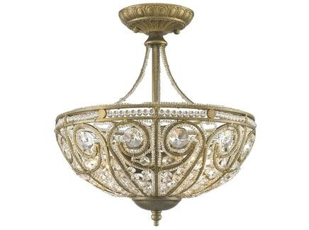 Светильник (wertmark) бронзовый 35.5 см.