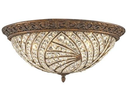 Потолочный светильник (wertmark) бронзовый 26.3 см.