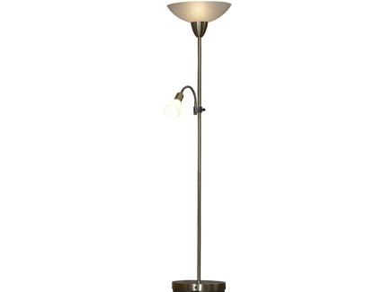 Торшер (lussole) бронзовый 180.0x28.0 см.