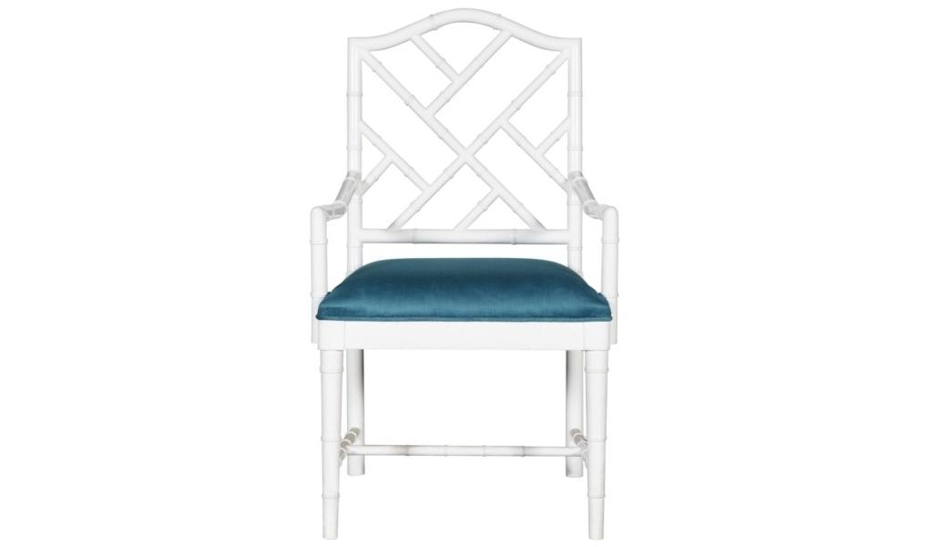 Стул с подлокотниками Dining armchairСтулья с подлокотниками<br><br><br>Material: Текстиль<br>Width см: 59<br>Depth см: 55<br>Height см: 99