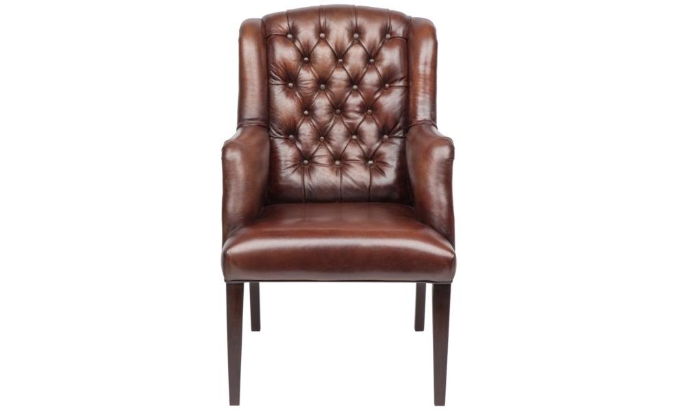 Кресло Ford DiningchairИнтерьерные кресла<br><br><br>Material: Кожа<br>Width см: 65<br>Depth см: 75<br>Height см: 106
