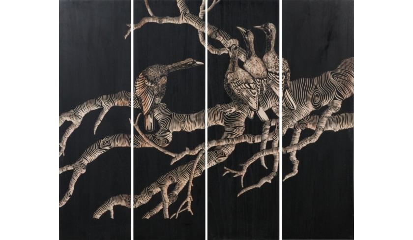КартинаКартины<br><br><br>Material: Дерево<br>Width см: 150<br>Depth см: 4<br>Height см: 180