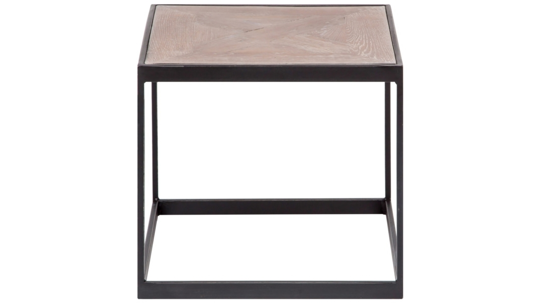 Стол Parquette Coffee TableКофейные столики<br><br><br>Material: Металл<br>Width см: 40<br>Depth см: 40<br>Height см: 40