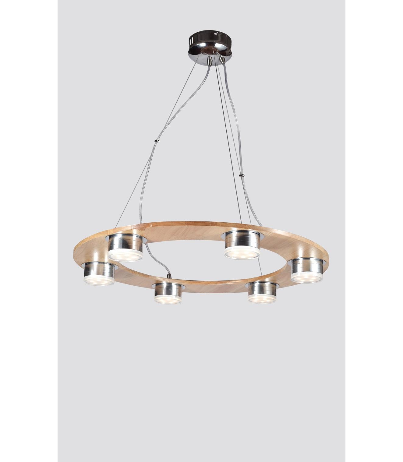 Подвесной светильник NaturaПодвесные светильники<br>Материал: Дерево/металл/акрил<br>Design by Marco Rossini Italy<br>Источник света: LED 6*5W<br>Особенности:<br>  a) Низкое энергопотребление<br>  b) Яркое свечение по температуре оптимизировано под обычные лампочки накаливания<br>  c) Не нуждается в замене лампочек&amp;amp;nbsp;<br><br>Material: Дерево<br>Высота см: 61