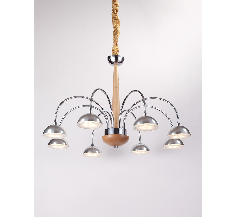 Люстра NaturaЛюстры подвесные<br>Материал: Дерево/металл/стекло<br>Design by Marco Rossini Italy<br>Источник света: LED 8*5W<br>Особенности:<br>  a) Низкое энергопотребление<br>  b) Яркое свечение по температуре оптимизировано под обычные лампочки накаливания<br>  c) Не нуждается в замене лампочек&amp;amp;nbsp;<br><br>Material: Дерево<br>Height см: 76<br>Diameter см: 66