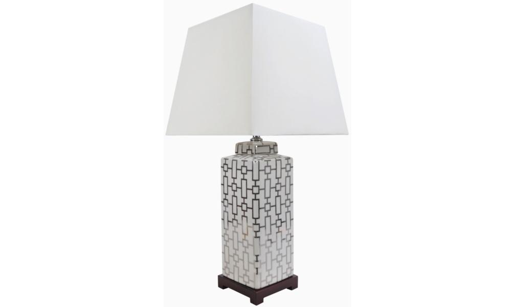 Настольная лампаДекоративные лампы<br>E27/50W/220-240V<br><br>Material: Керамика<br>Width см: 38<br>Depth см: 38<br>Height см: 77