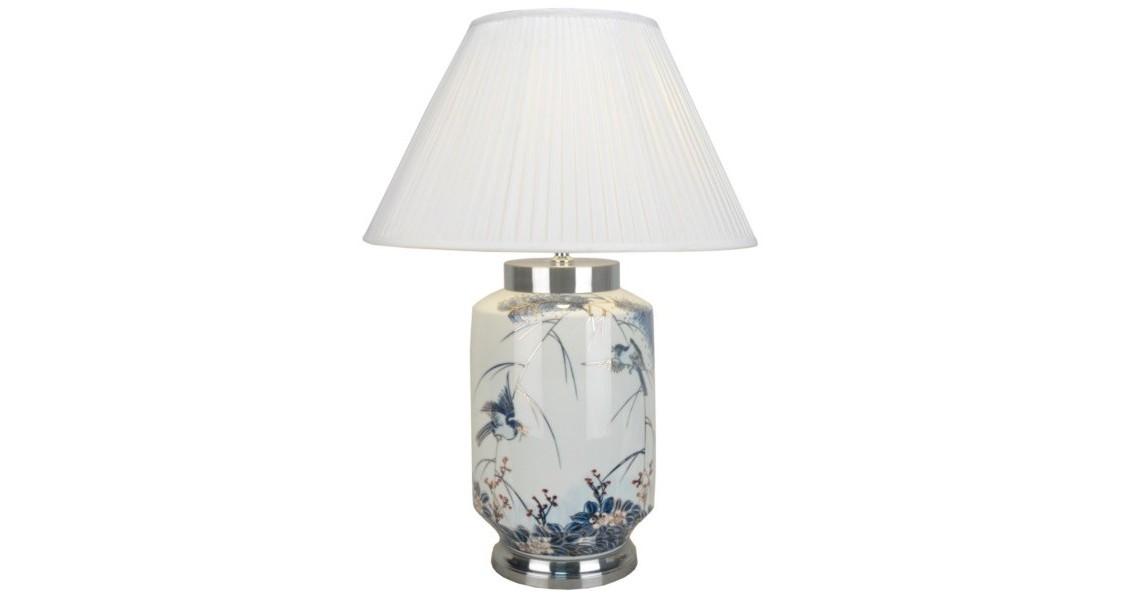 Настольная лампаДекоративные лампы<br>E27/50W/220-240V<br><br>Material: Керамика<br>Height см: 92<br>Diameter см: 59