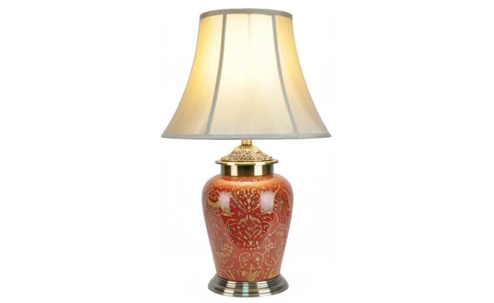 Лампа настольнаяДекоративные лампы<br>E27/50W/220-240V<br><br>Material: Керамика<br>Height см: 61<br>Diameter см: 38