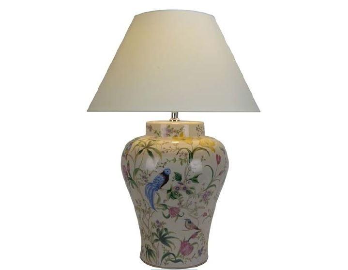 Настольная лампаДекоративные лампы<br>E27/50W/220-240V<br><br>Material: Керамика<br>Height см: 82<br>Diameter см: 60