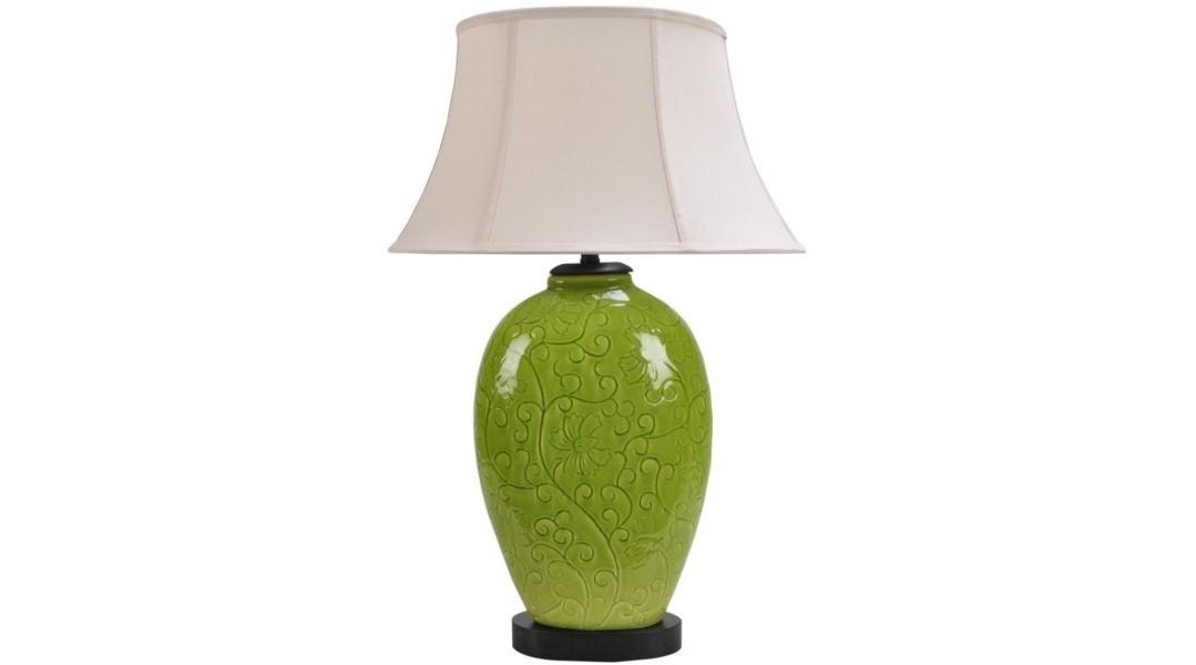 Лампа настольнаяДекоративные лампы<br>E27/50W/220-240V<br><br>Material: Керамика<br>Width см: 30<br>Depth см: 16<br>Height см: 57<br>Diameter см: None
