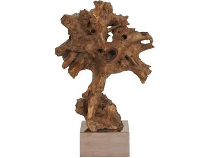Декор burlwood (m-style) коричневый 59x93x40 см.