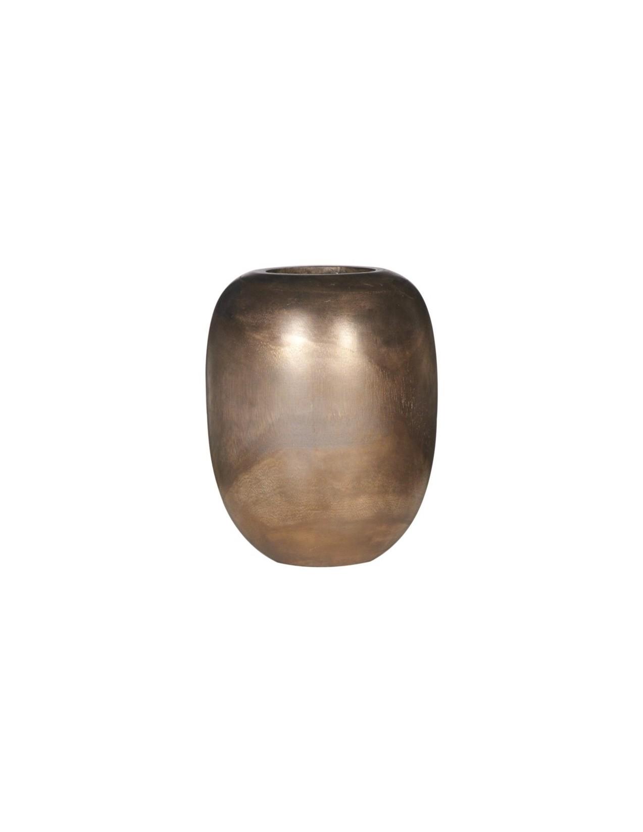Ваза настольная Pot WoodВазы<br><br><br>Material: Дерево<br>Height см: 23<br>Diameter см: 18