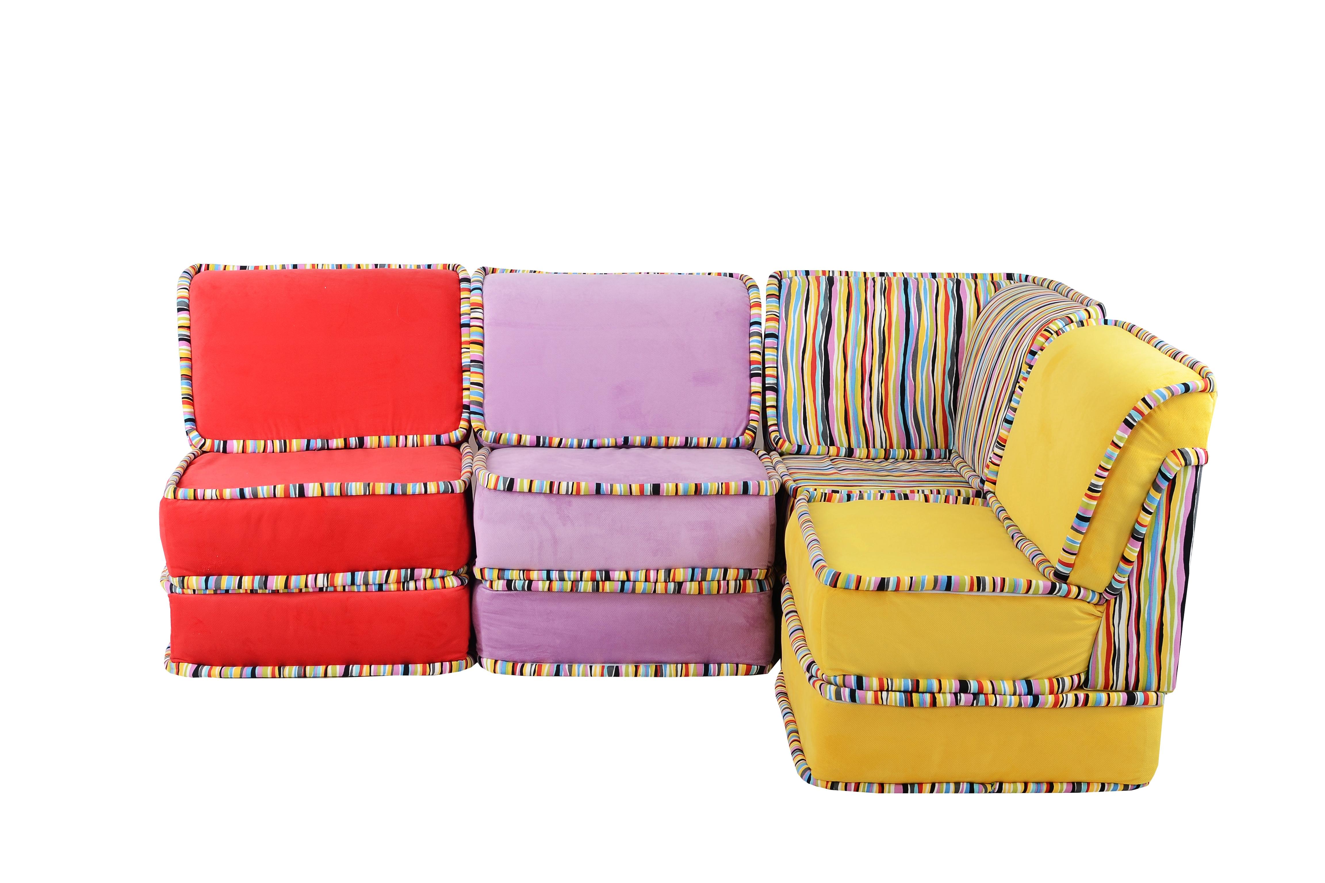Диван угловой ПалитраМодульные диваны<br>Модульные диваны отличаются тем, что они функциональны, а значит, вы сможете выбрать уникальную, подходящую именно вам конструкцию. Вы непременно оцените многообразие роскошных цветов. Диван - это центральный элемент интерьера. Пусть он будет безупречным.Размер одного модуля: ширина - 70 см, высота - 65 см, глубина - 70 см.&amp;amp;nbsp;Для удобства модули ничем не соединены, и вы можете свободно менять их местами.<br><br>Material: Текстиль<br>Width см: 280<br>Depth см: 70<br>Height см: 65