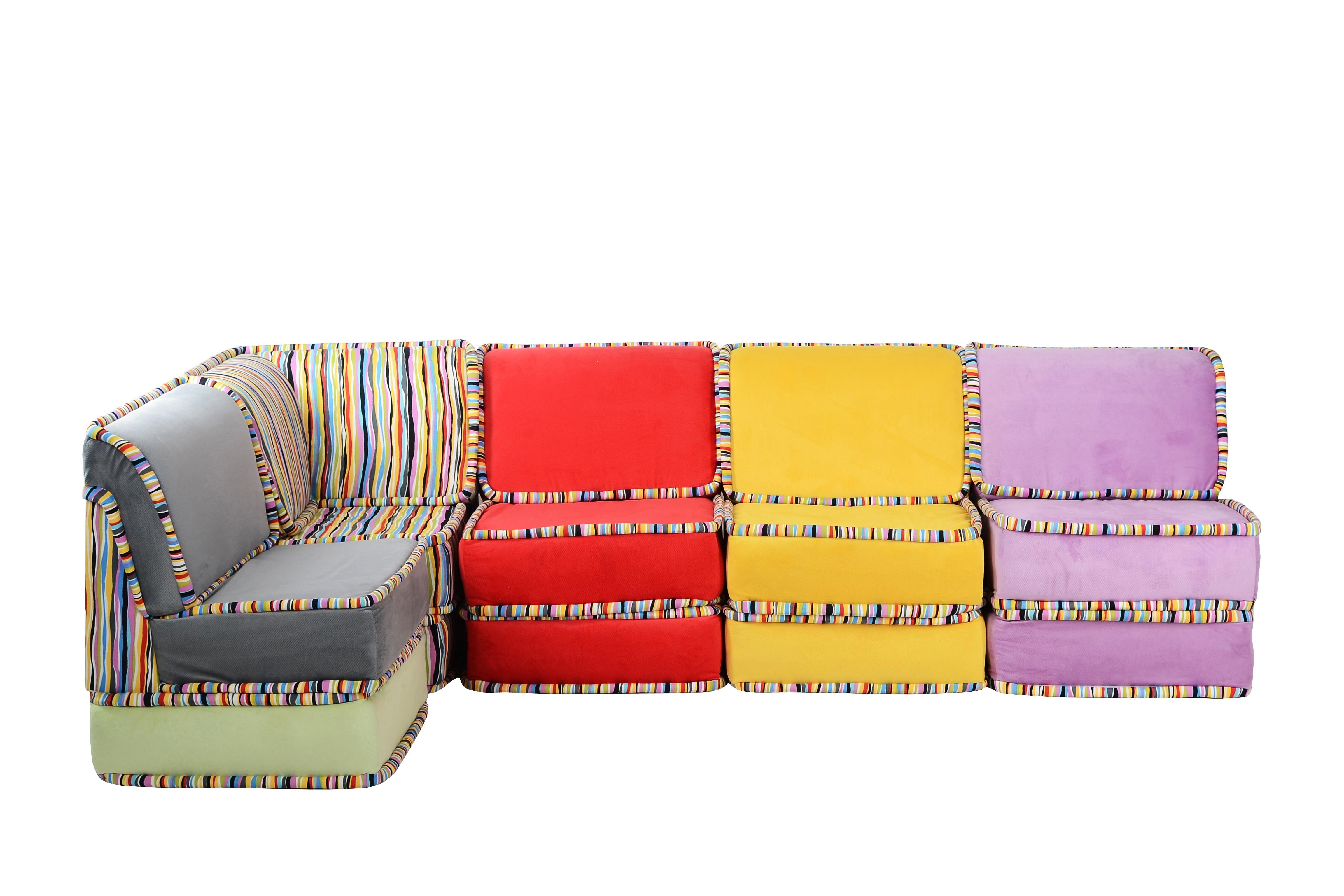 Диван угловой ПалитраМодульные диваны<br>Модульные диваны отличаются тем, что они функциональны, а значит, вы сможете выбрать уникальную, подходящую именно вам конструкцию. Вы непременно оцените многообразие роскошных цветов. Диван - это центральный элемент интерьера. Пусть он будет безупречным.Для удобства модули ничем не соединены, и вы можете свободно менять их местами.Размер одного модуля: ширина - 70 см, высота - 65 см, глубина - 70 см.<br><br>Material: Текстиль<br>Width см: 350<br>Depth см: 70<br>Height см: 65