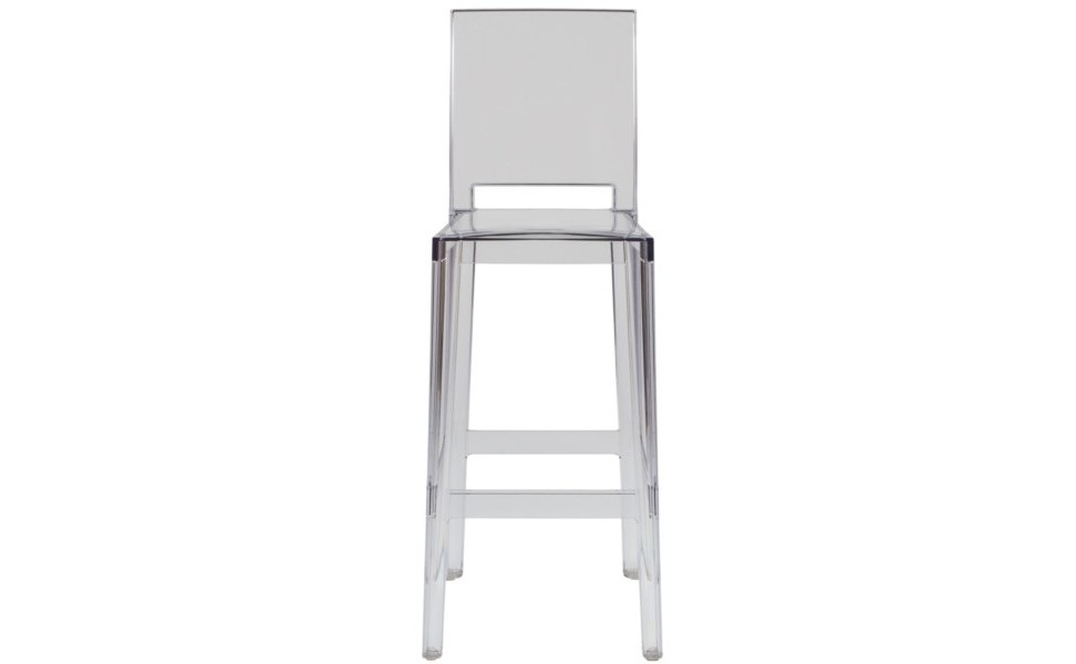 Стул One more,one more pleaseБарные стулья<br>Объем: 0,21 м3<br>Высота со спинкой: 110<br><br>Material: Пластик<br>Length см: None<br>Width см: 38<br>Depth см: 46<br>Height см: 75