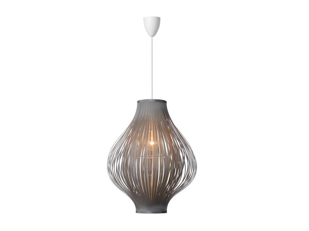 Подвесной светильник POLIПодвесные светильники<br>материал: PVC и полиэстер/ серый<br>диаметр: 36 см<br>высота: 125 см<br>Е27, 60W, 1 лампочка (в комплект не входит)<br><br>Material: Текстиль<br>Height см: 125<br>Diameter см: 36
