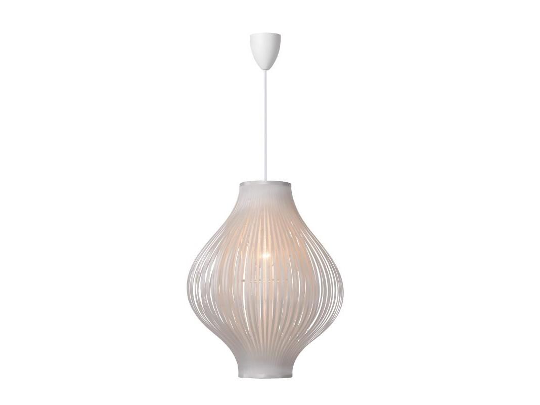 Подвесной светильник POLIПодвесные светильники<br>материал: PVC и полиэстер/ белый<br>диаметр: 36 см<br>высота: 125 см<br>Е27, 60W, 1 лампочка (в комплект не входит)<br><br>Material: Текстиль<br>Height см: 125<br>Diameter см: 36