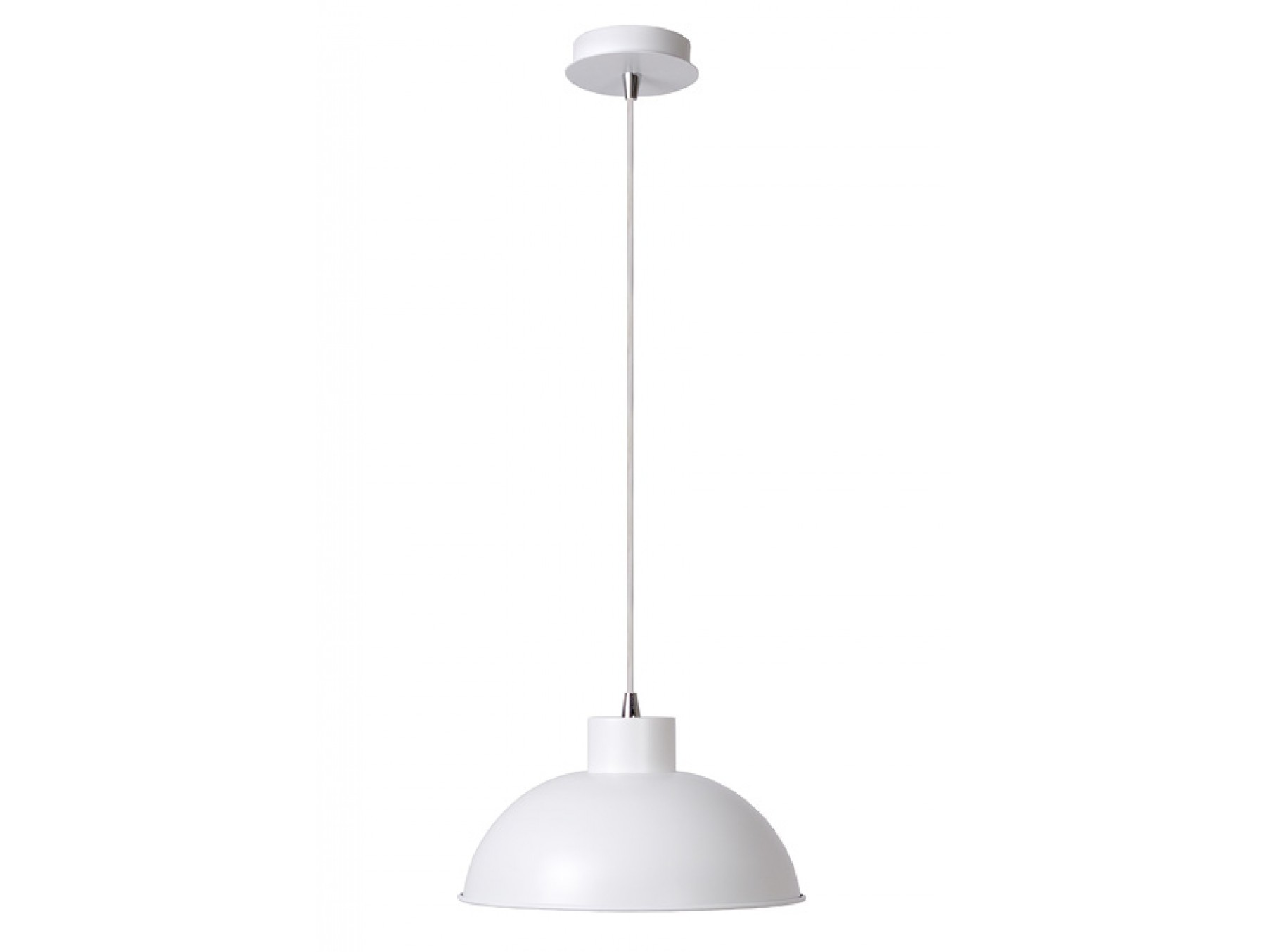 Подвесной светильник BORISПодвесные светильники<br>основание: металл&amp;lt;div&amp;gt;плафон: металл/белый&amp;lt;/div&amp;gt;&amp;lt;div&amp;gt;диаметр: 30 см&amp;lt;/div&amp;gt;&amp;lt;div&amp;gt;высота: 130 см&amp;lt;/div&amp;gt;&amp;lt;div&amp;gt;Е27, 60W, 1 лампочка (в комплект не входит)<br>&amp;lt;/div&amp;gt;<br><br>Material: Металл<br>Height см: 130<br>Diameter см: 30