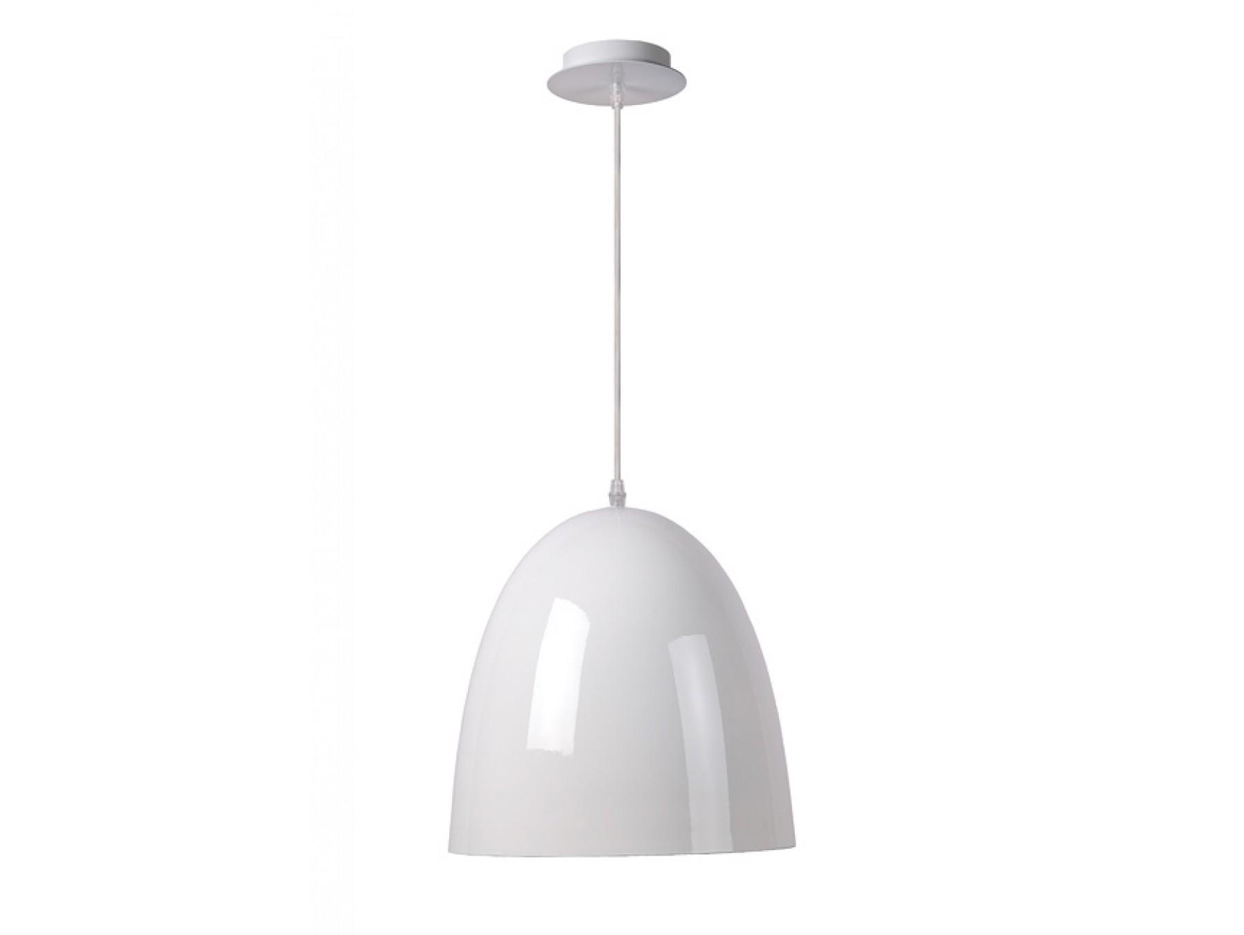 Подвесной светильник LOKOПодвесные светильники<br>основание: металл<br>плафон: металл/белый<br>диаметр: 30 см<br>высота: 120 см<br>Е27, 60W, 1 лампочка (в комплект не входит)<br><br>Material: Металл<br>Высота см: 120.0