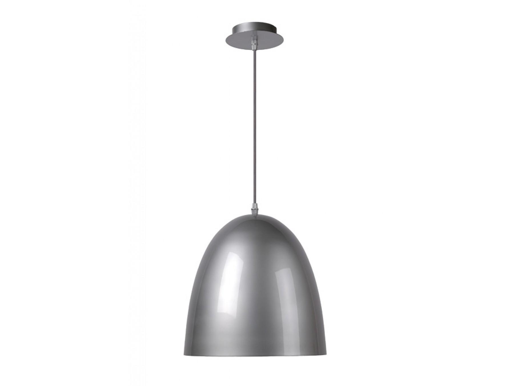 Подвесной светильник LOKOПодвесные светильники<br>основание: металл<br>плафон: металл/серый<br>диаметр: 30 см<br>высота: 120 см<br>Е27, 60W, 1 лампочка (в комплект не входит)<br><br>Material: Металл<br>Height см: 120<br>Diameter см: 30