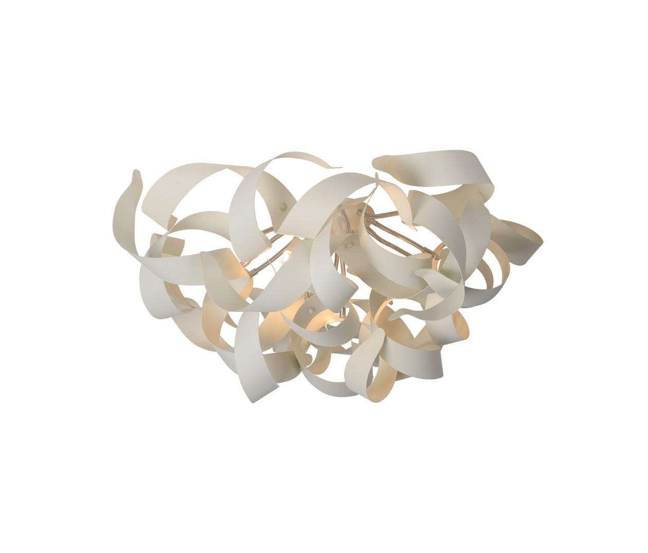 Потолочный светильник ATOMAПотолочные светильники<br>основание: металл<br>плафон: металл/белый<br>диаметр: 65 см<br>высота: 35 см<br>G9, 33W, 6 лампочек (в комплекте)<br><br>Material: Металл<br>Height см: 35<br>Diameter см: 65