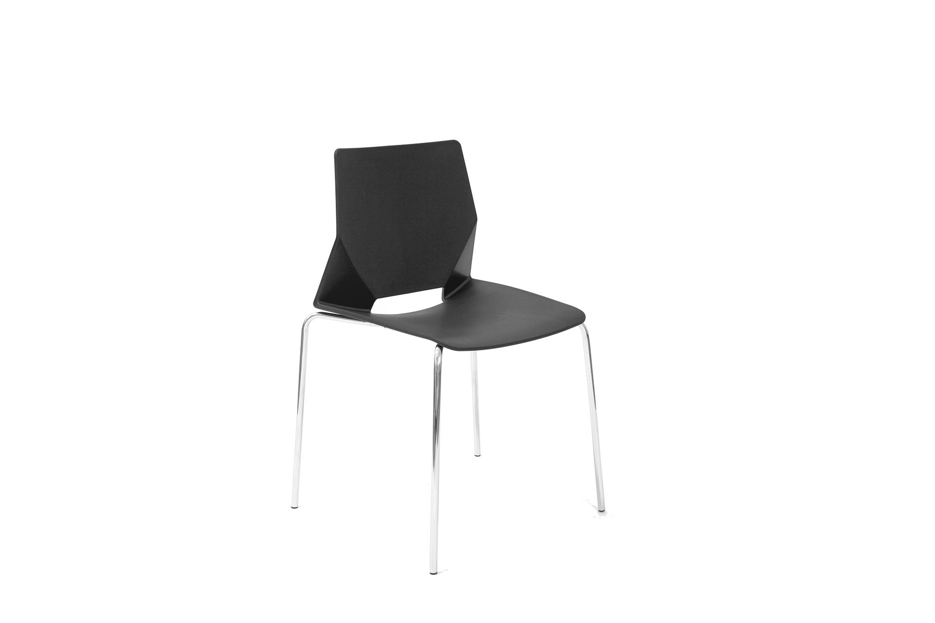 Стул HF-01 черныйОбеденные стулья<br><br><br>Material: Пластик<br>Width см: 58<br>Depth см: 52<br>Height см: 80