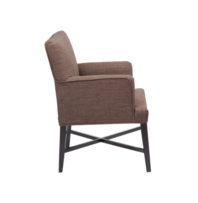 Стул с подлокотникамиПолукресла<br>&amp;lt;div&amp;gt;Мягкий стул отличается от своих классических собратьев объемной обивкой с цветочным орнаментом. За счет чего он больше похож на уютное кресло, но наличие ножек утверждают его статус. Он может стать обитателем гостиной, дополнив журнальную зону, или разместиться в спальне или кабинете.&amp;lt;/div&amp;gt;&amp;lt;div&amp;gt;&amp;lt;br&amp;gt;&amp;lt;/div&amp;gt;Отделка и обивка могут отличаться от фото на сайте. Подробную информацию уточняйте у менеджеров<br><br>Material: Текстиль<br>Length см: None<br>Width см: 53<br>Depth см: 60<br>Height см: 89