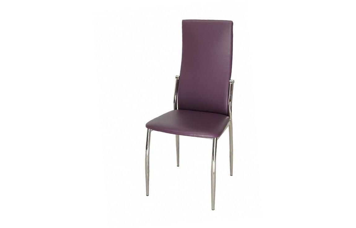 Стул 2368 (пурпурный)Обеденные стулья<br><br><br>Material: Кожа<br>Width см: 45<br>Depth см: 51<br>Height см: 100