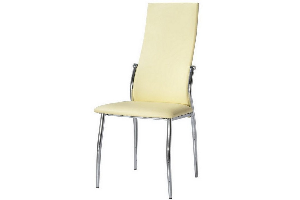 СтулОбеденные стулья<br>Требуется сборка.<br><br>Material: Кожа<br>Ширина см: 45<br>Высота см: 100<br>Глубина см: 51