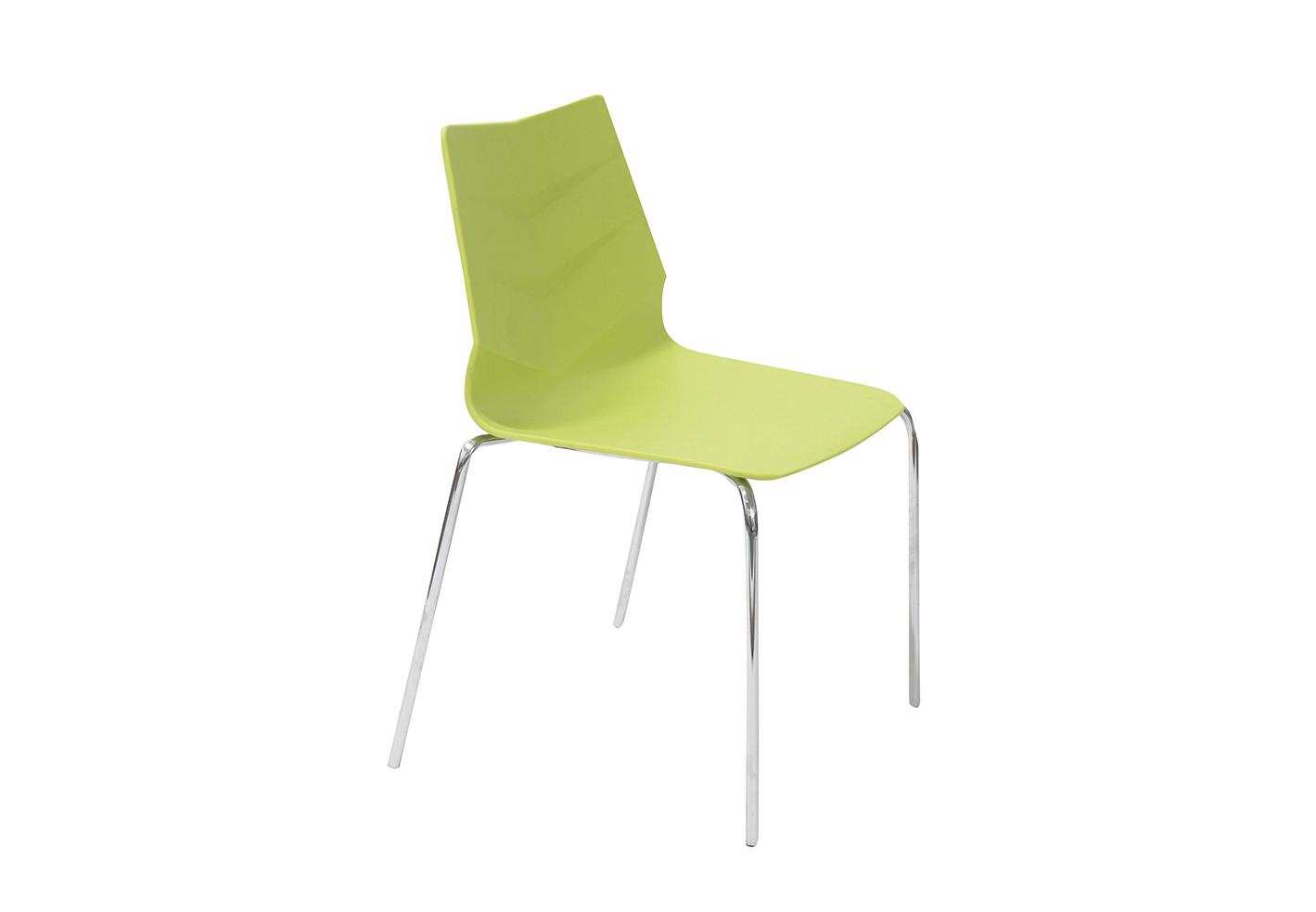 Стул LEAF-01 лаймОбеденные стулья<br><br><br>Material: Пластик<br>Width см: 57<br>Depth см: 52<br>Height см: 83