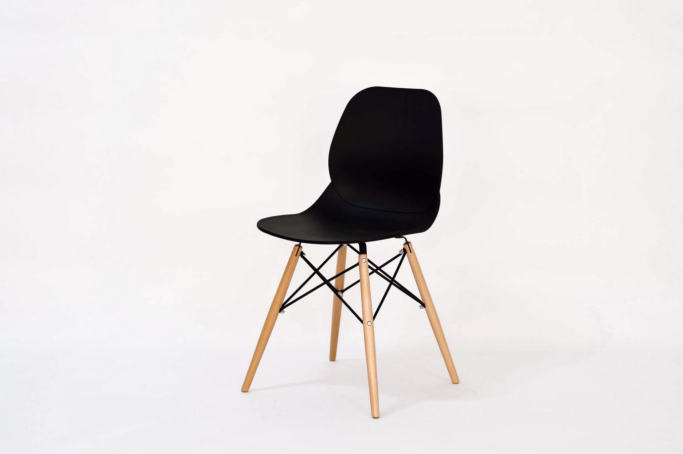 Стул PW-025 черныйОбеденные стулья<br>&amp;lt;div&amp;gt;Материал: Пластик, дерево&amp;lt;/div&amp;gt;&amp;lt;div&amp;gt;&amp;lt;br&amp;gt;&amp;lt;/div&amp;gt;<br><br>Material: Пластик<br>Width см: 45,5<br>Depth см: 49<br>Height см: 82,5