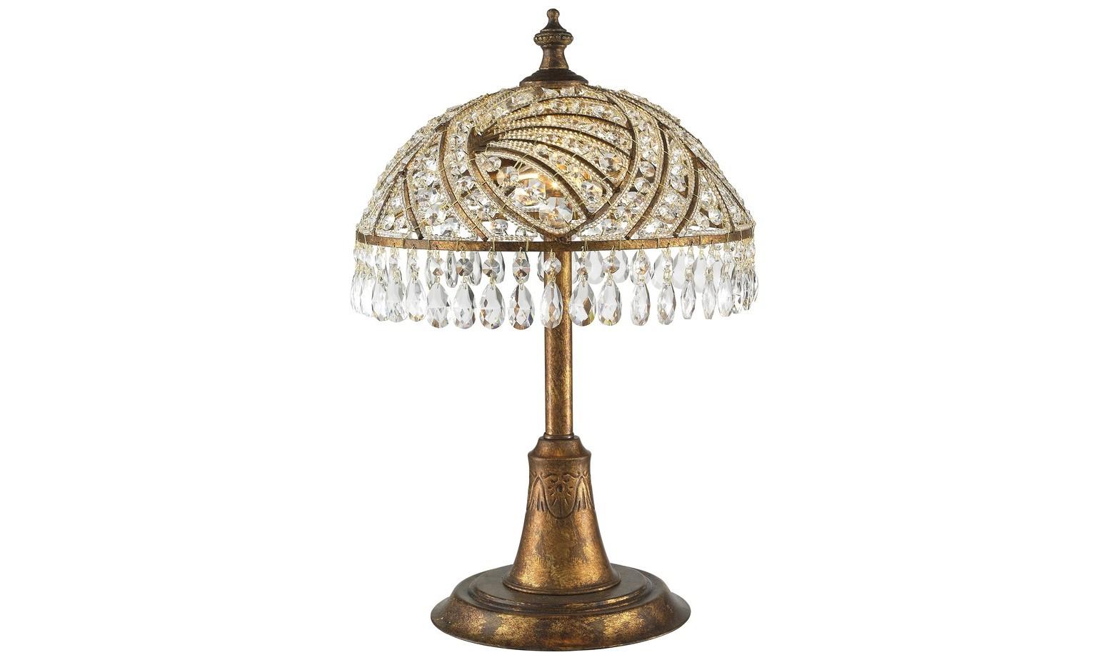 Настольная лампаДекоративные лампы<br>Материал: металл+хрусталь K9&amp;lt;div&amp;gt;Лампочки: 2*40W&amp;lt;/div&amp;gt;&amp;lt;div&amp;gt;Цоколь: E14&amp;lt;/div&amp;gt;&amp;lt;div&amp;gt;Цвет: испанская бронза&amp;lt;/div&amp;gt;<br><br>Material: Металл<br>Height см: 56<br>Diameter см: 35