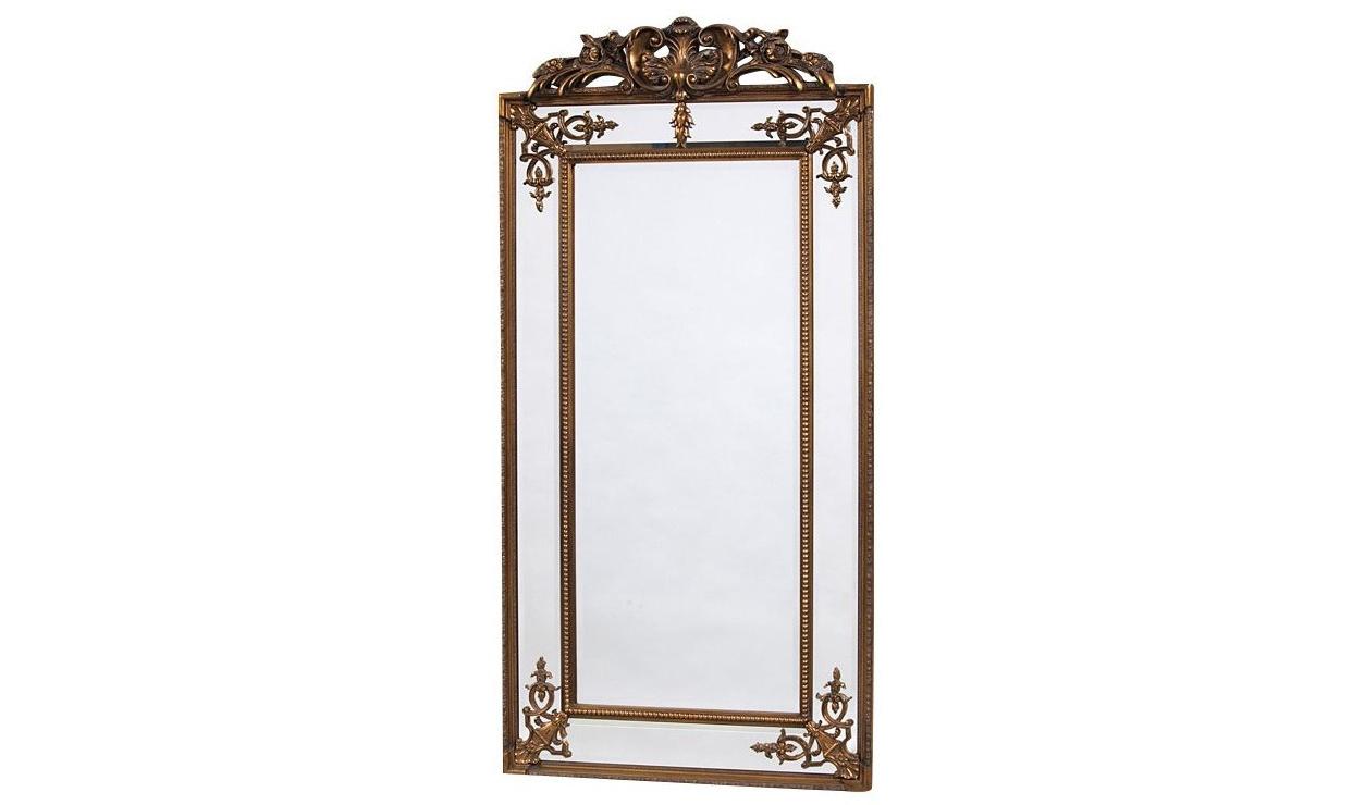 Напольное зеркало пабло (francois mirro) золотой 92.0x200.0x5.0 см.