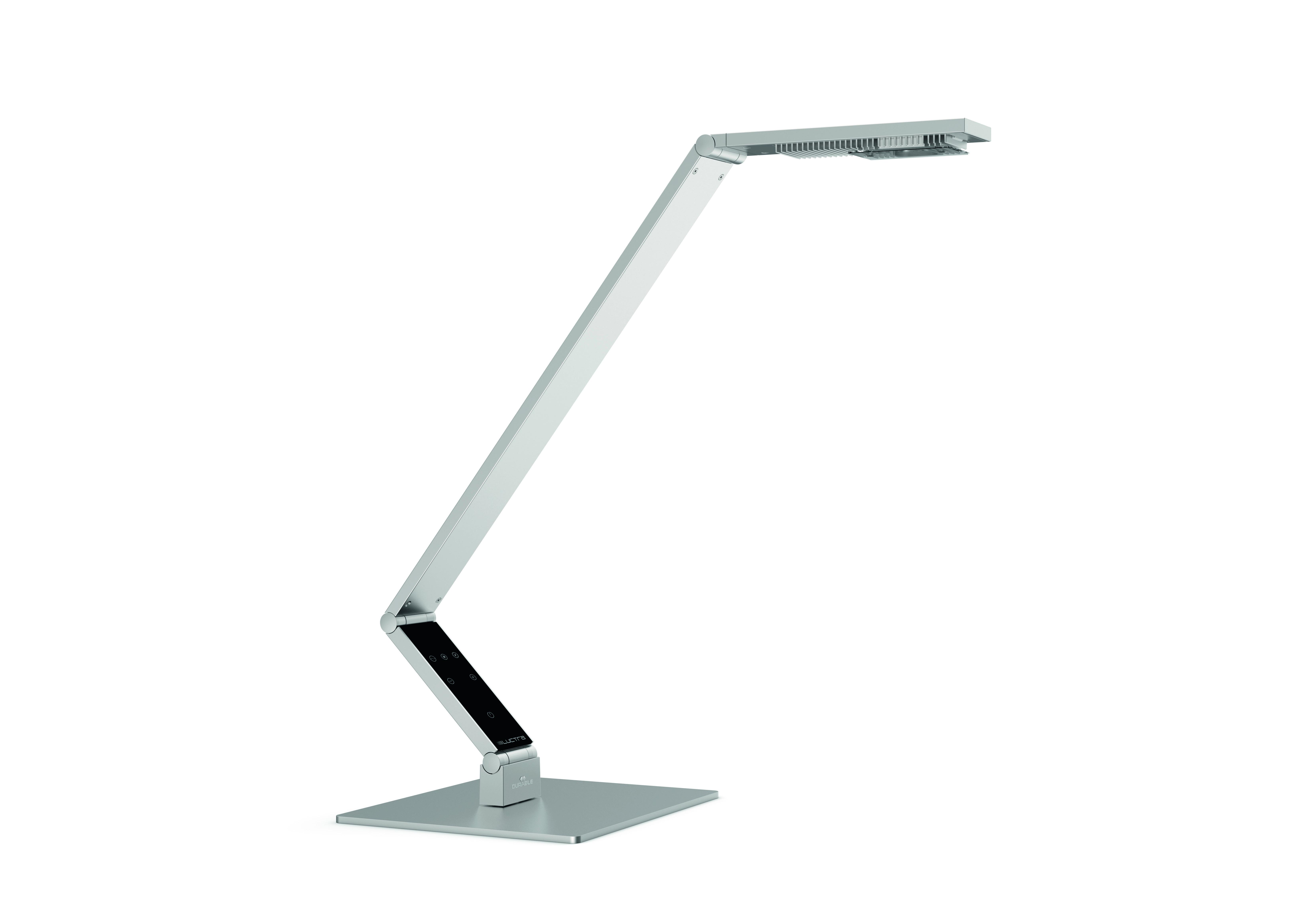 Настольная лампа LUCTRA LINEAR TABLEНастольные лампы<br>LINEAR TABLE в стиле hi-tech великолепно впишется в любой интерьер: офис, домашний кабинет, гостиную. Сочетание высококлассной LED-технологии, точной регулировки света делают эту лампу идеальным инструментом для работы.<br>&amp;lt;br&amp;gt;LED-лампы:<br>- 2 лампы холодного белого свечения &amp;amp;amp; 2 теплого белого свечения<br>- генерация света интенсивностью до 1000 лк при высоте 60 см<br>- срок службы более 50 000 часов за счет радиаторов охлаждения. Отсутствует риск обжечься при контакте с головкой лампы.<br>Питание: <br>- класс потребления энергии: А<br>- в комплекте евроштекер и штекер британского стандарта<br>- кабель 1,8 м<br>&amp;lt;br&amp;gt;<br>Алюминиевый корпус, сверхпрочные самоблокирующиеся шарниры.<br><br>Material: Алюминий<br>Depth см: 9<br>Height см: 30-75